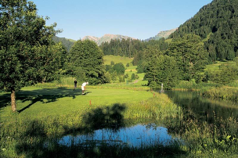 Wasserhindernis for Oberstaufen golf